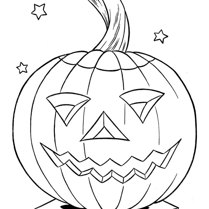 Free pumpkin coloring pages for kids for Beatrice doesn t want to coloring page