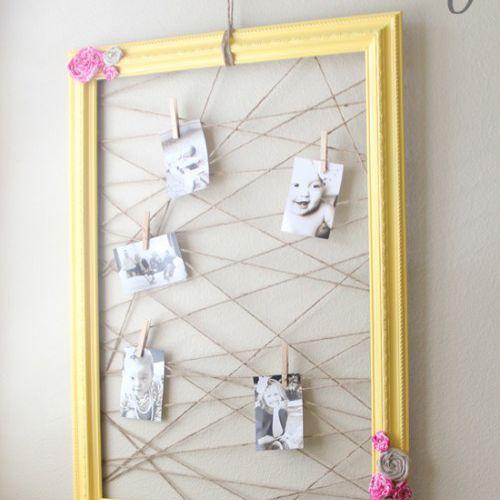 picture frame memo board