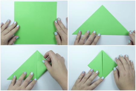 Easy Traditional Origami Turtle Instructions