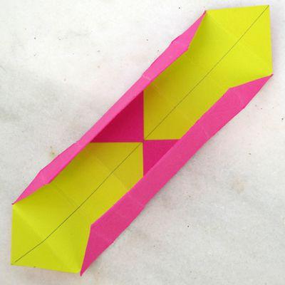 folding edges to form sides