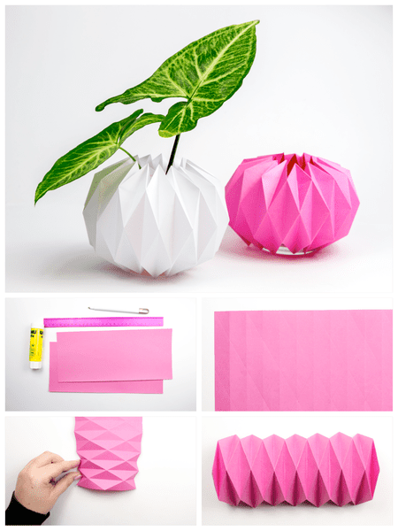Diy Origami Plant Pot Covers