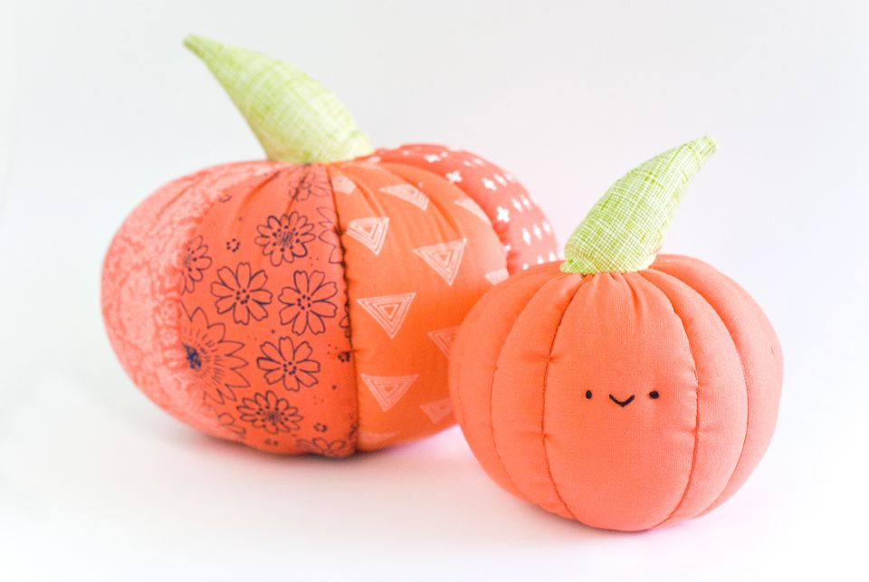 Stuffed Pumpkin Pillows