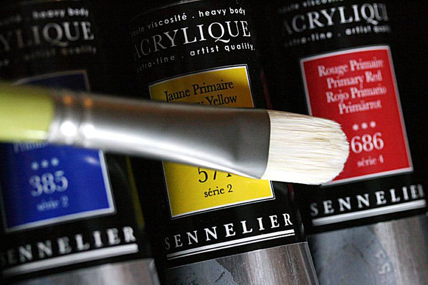 For Glazing And Blending Sennelier Acrylics