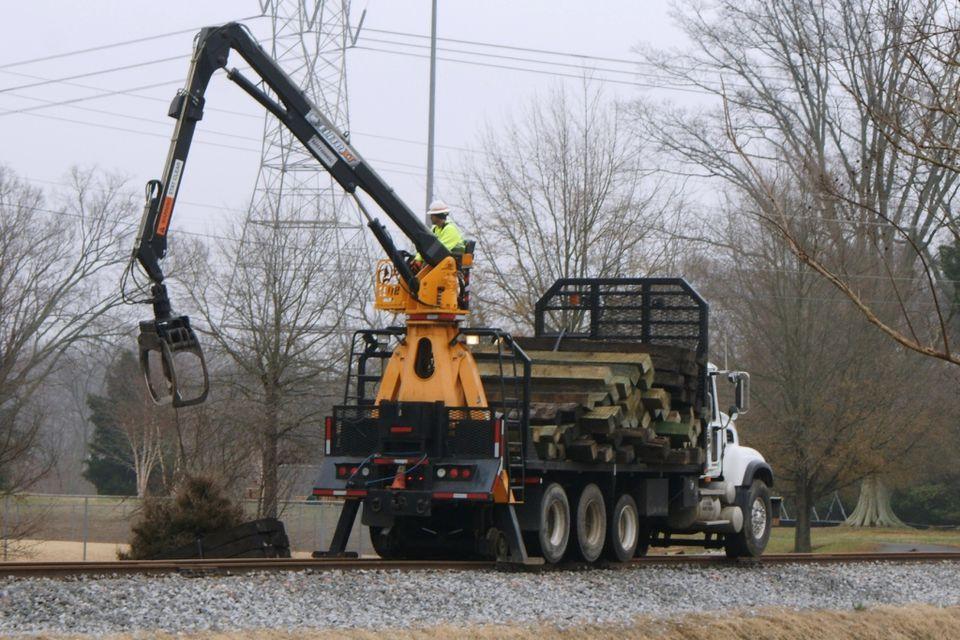 Railroad Tie Truck