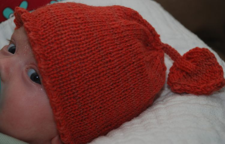 sprout baby hat pattern