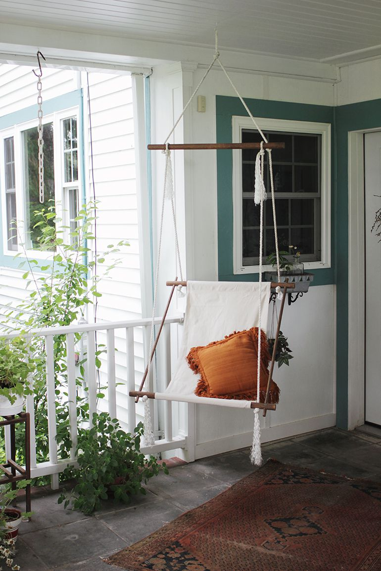 Picture of: Diy Hanging Chair Ideas For Any Room