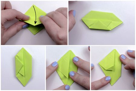 How to Make a 3-D Origami Apple