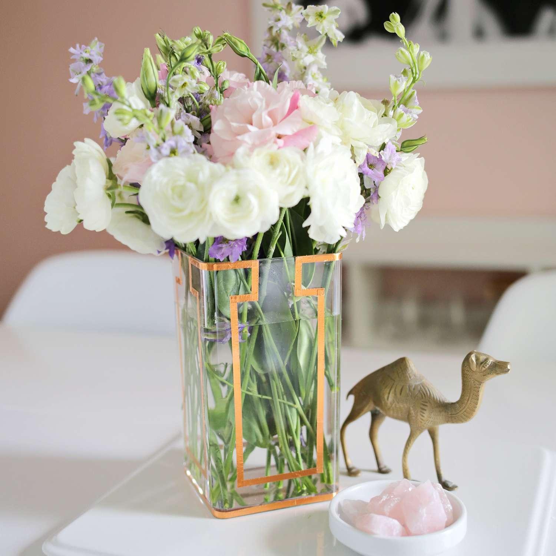 DIY Copper Tape Vase