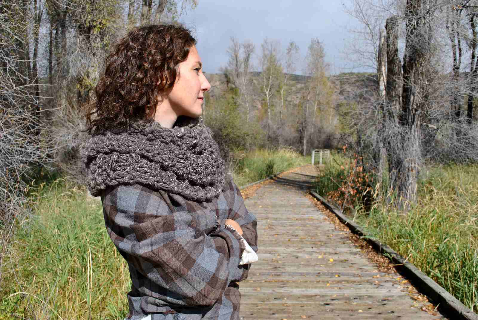 Outlander-Inspired Chunky Claire Cowl
