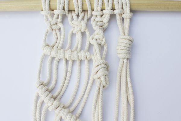 7 basic macrame knots