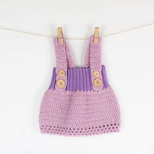 15 Precious Crochet Newborn Dress Patterns