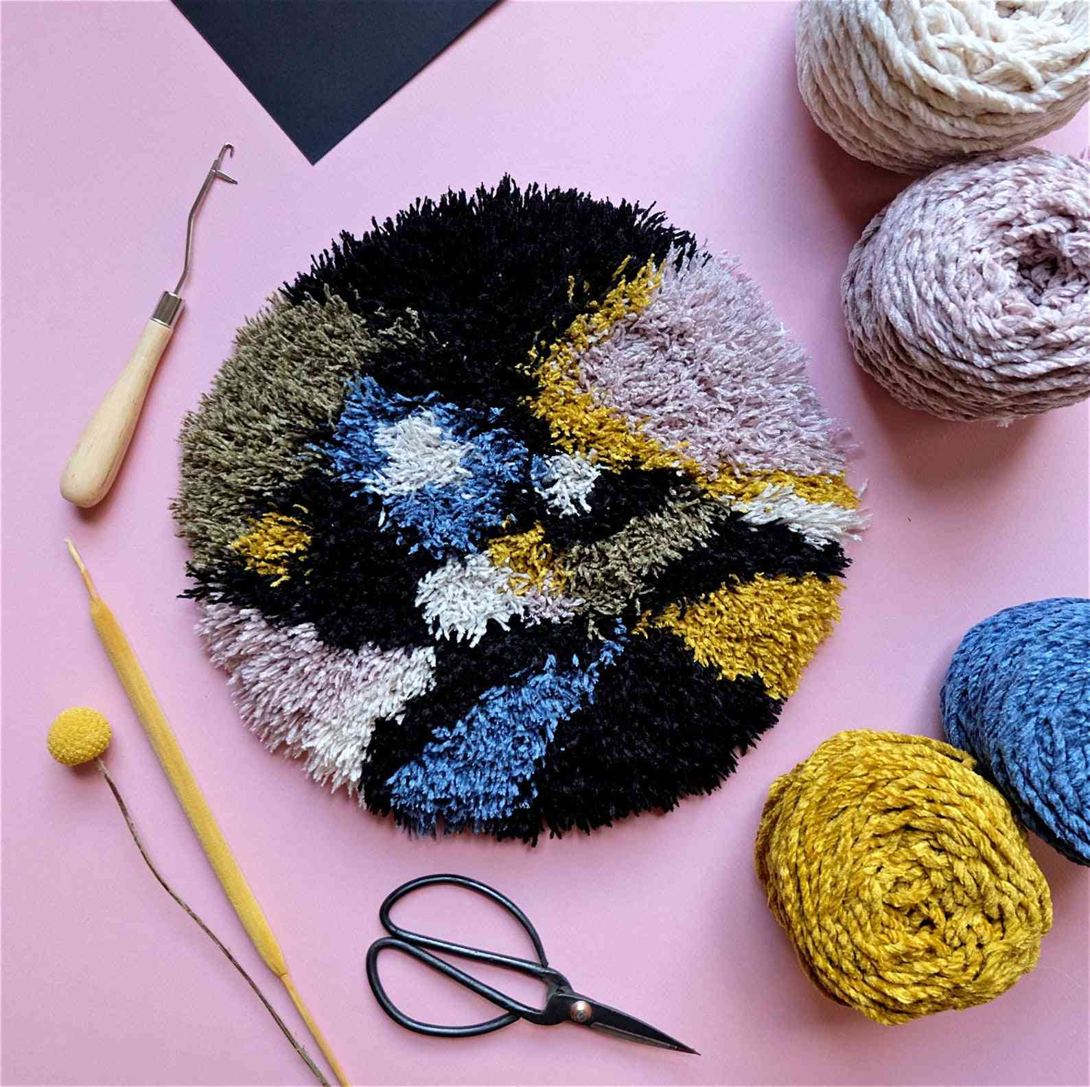 10 Latch Hook Rug Patterns Kits And Ideas