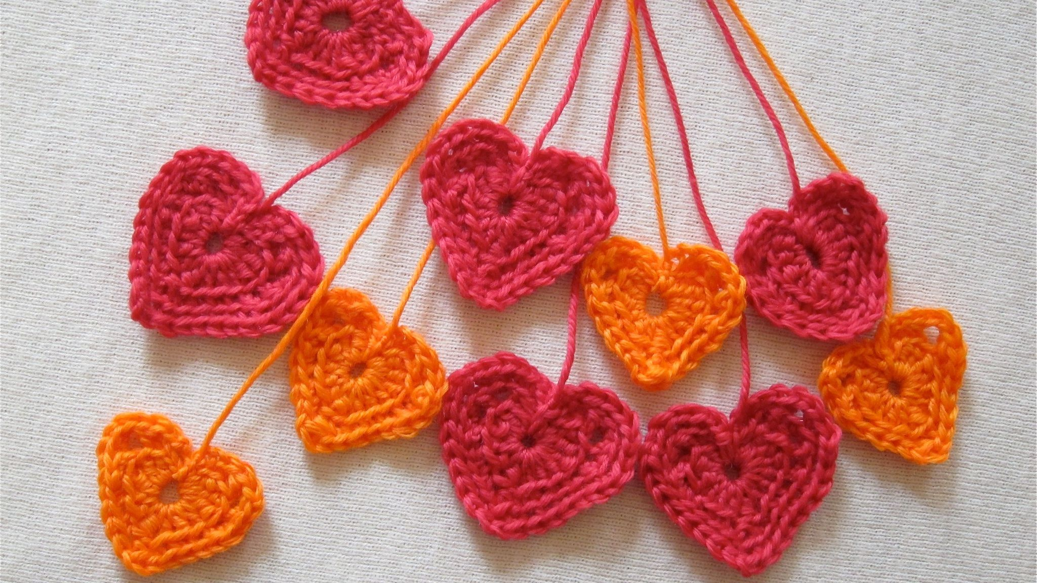 CROCHET PATTERN: 3D or PUFFY CROCHET HEART | Patrones Valhalla ENG ... | 1152x2048
