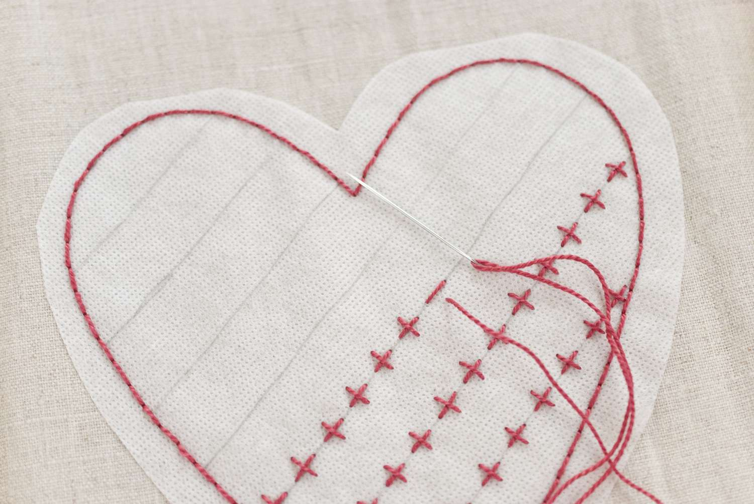 Embroider the Hearts