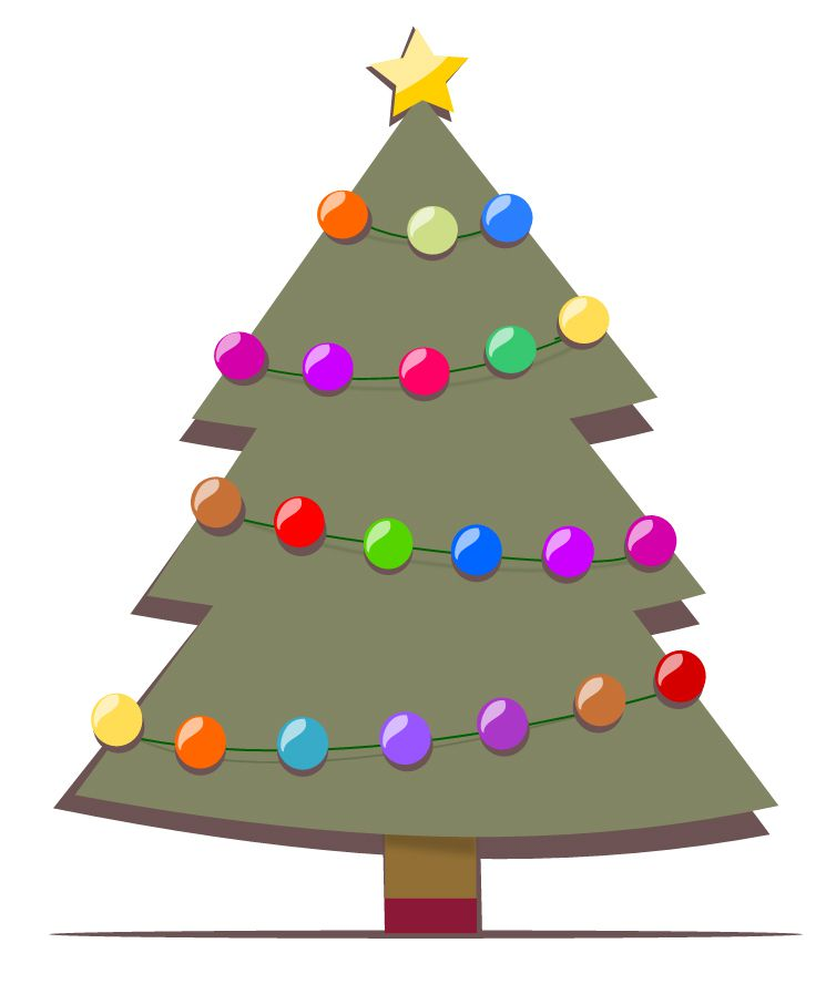 Christmas Tree Cliparts: The Best Free Christmas Tree Clip Art Images