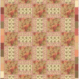 Floral Rag Quilt Pattern