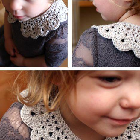 Kids Crochet Collar