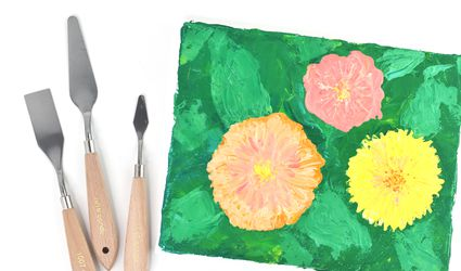 How to Do Palette Knife Painting