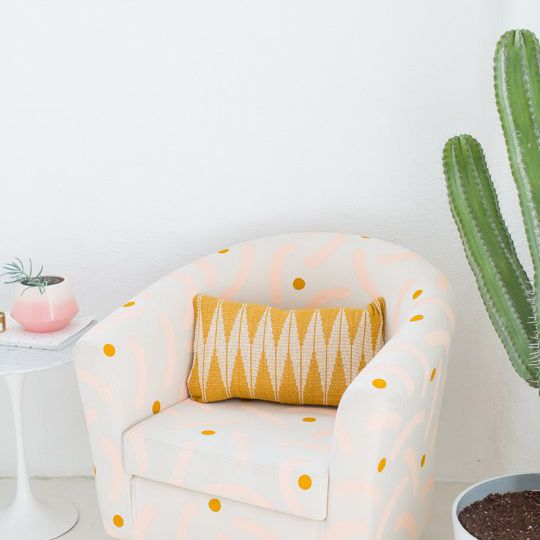 DIY Painted Chair Makeover