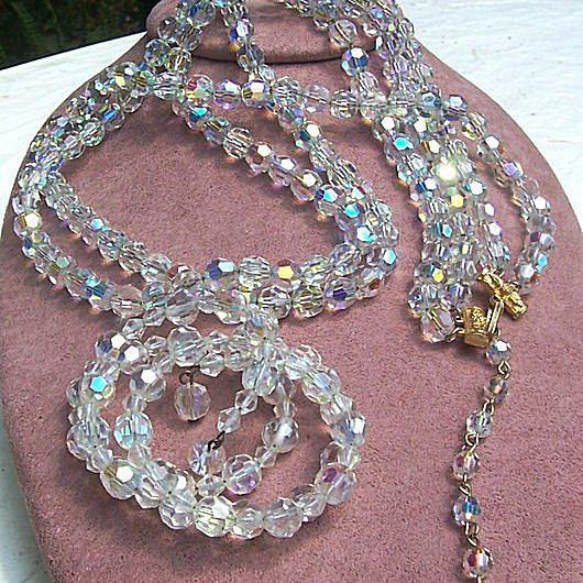 Vintage 80s 1928 Brand necklace and bracelet