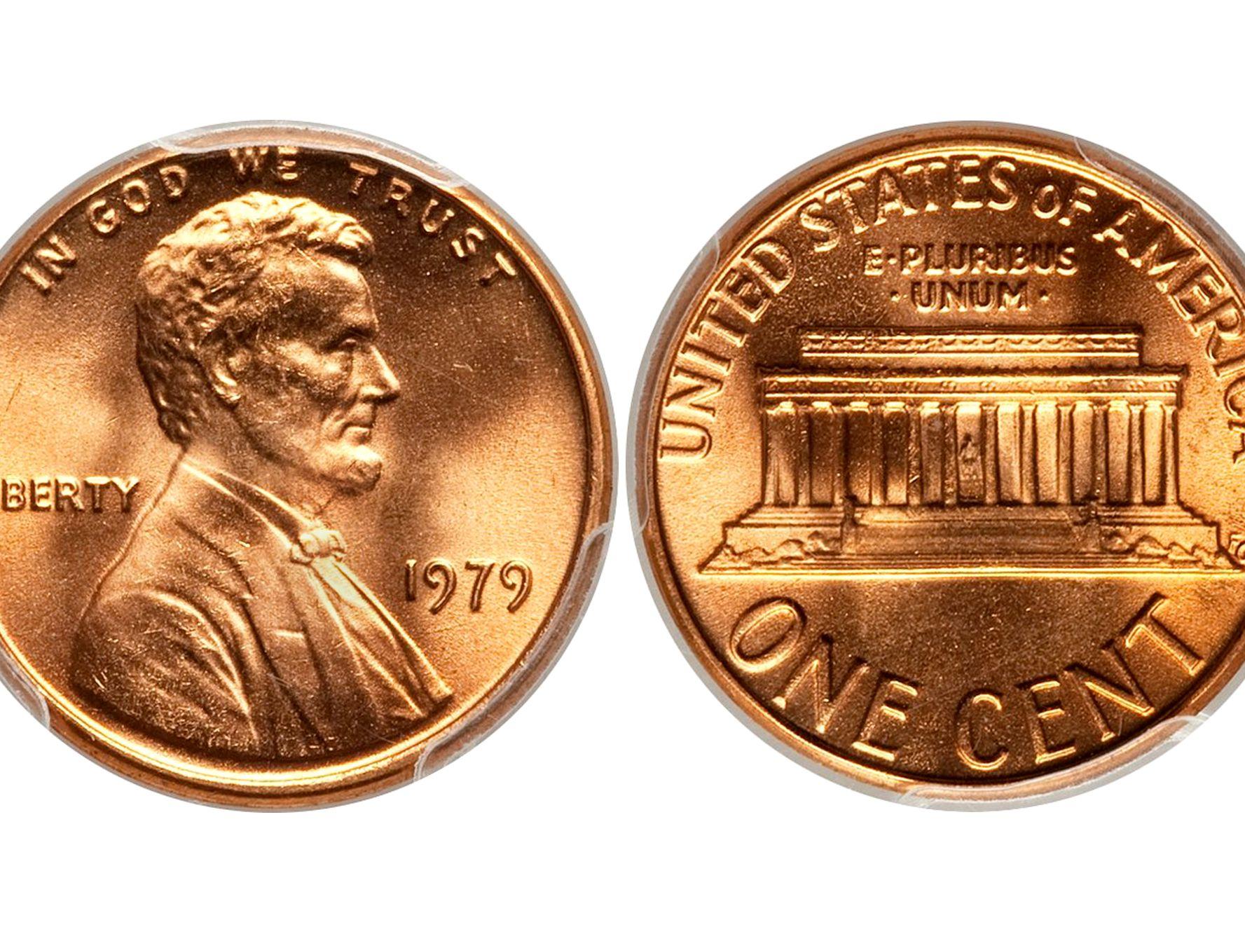 1959-1981 Lincoln Memorial Pennies  5 LBS.