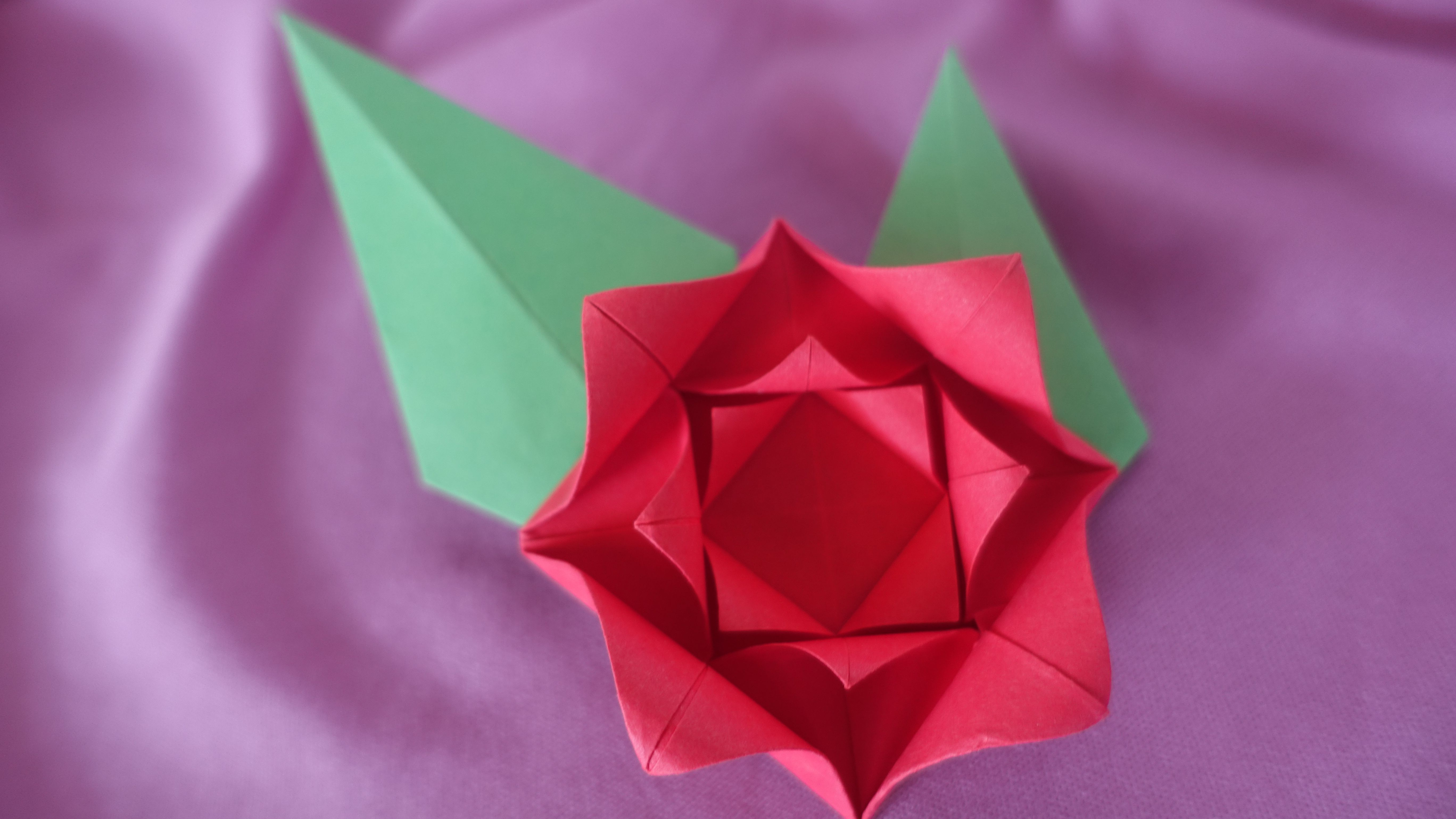Origami Magic Rose Cube : 17 Steps (with Pictures) - Instructables | 3078x5472