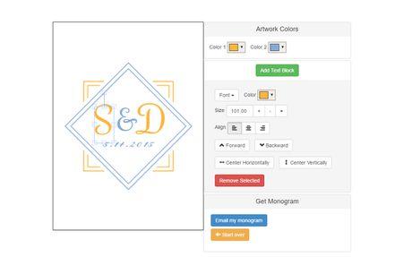 6 free monogram makers and generators a screenshot of the invys monogram maker spiritdancerdesigns Images