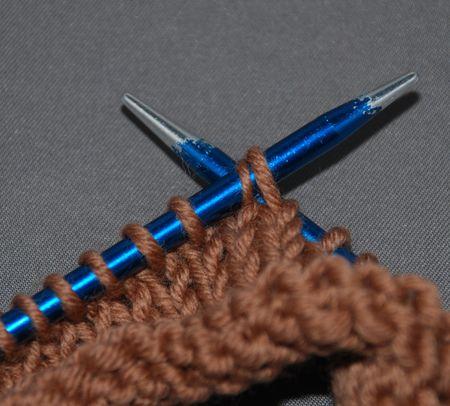 Knit 2 Together Through The Back Loop K2tog Tbl