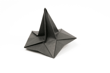 How To Make An Origami Witch Hat
