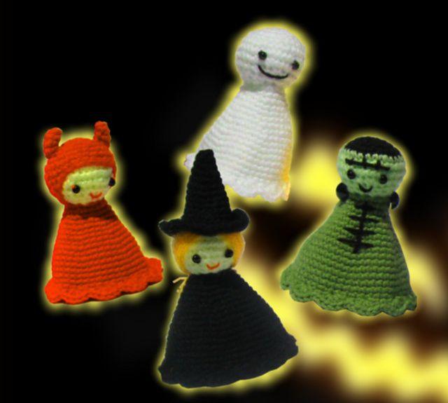 Halloween Amigurumi Crochet Dolls