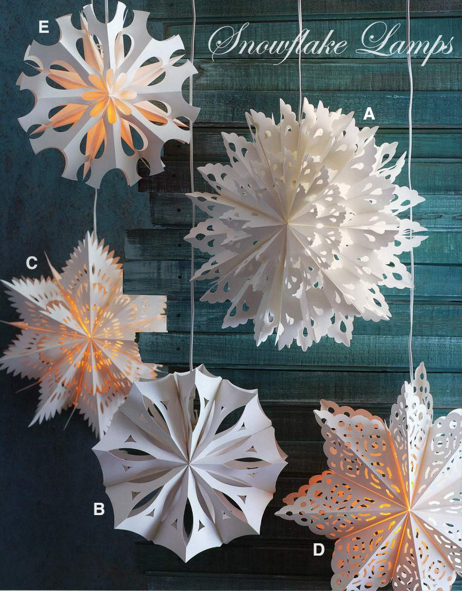 17 Magical Paper Snowflake Craft Projects