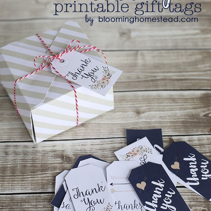 10 Sets Of Free All Occasion Gift Tags