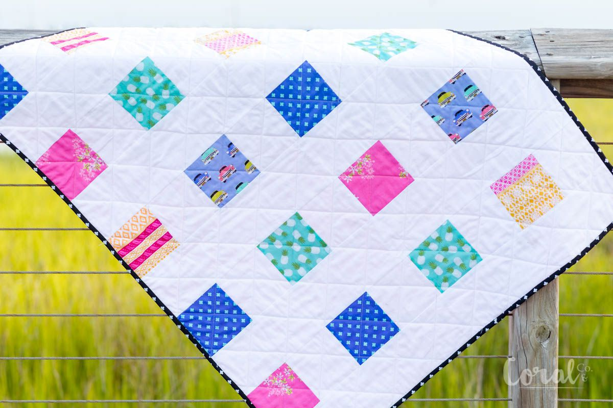 Simple Charm Pack Baby Quilt Pattern