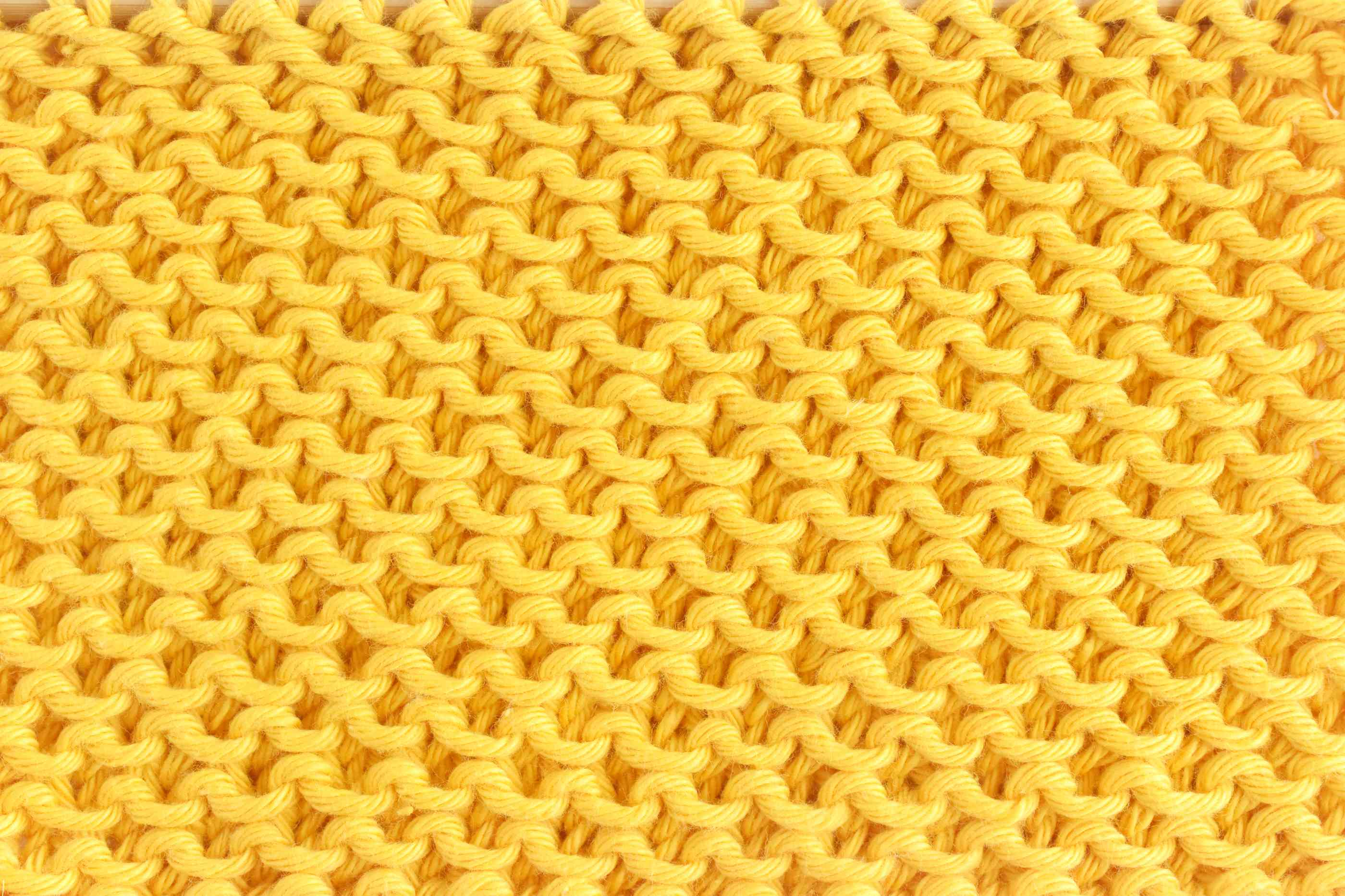 Honeycomb Stitch Knitting Front