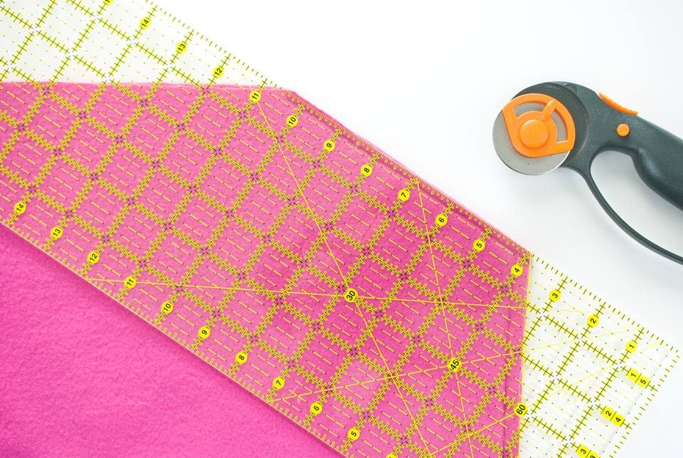 Free Pattern and Directions for Sewing a Hooded Scarf