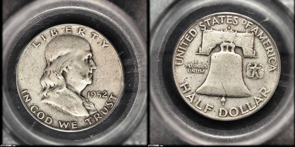 Franklin Half Dollar Graded Very Fine-30 (VF30)