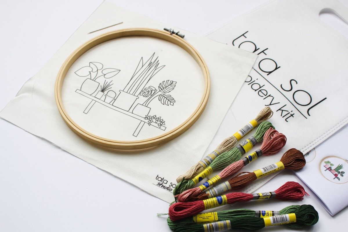 The Best Embroidery Kits To Buy For Beginners