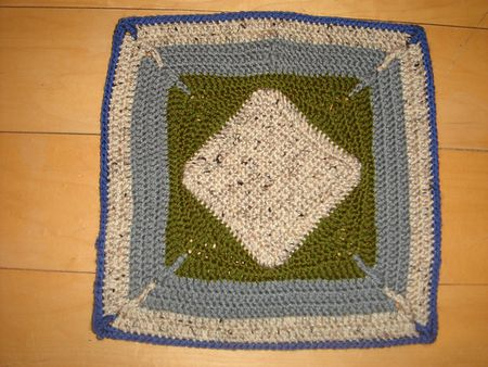 35 Free Crochet Afghan Square Patterns