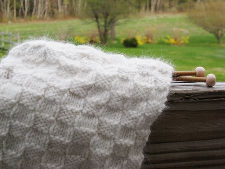 Free Basketweave Scarf Knitting Pattern