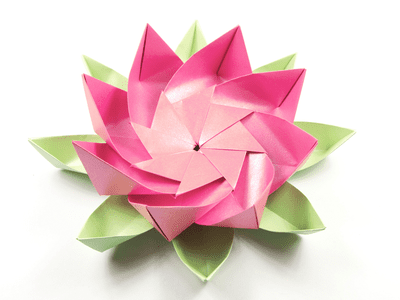 How to make an origami napkin lotus decorative origami lotus flower mightylinksfo
