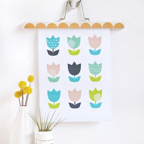 DIY Tulip Art