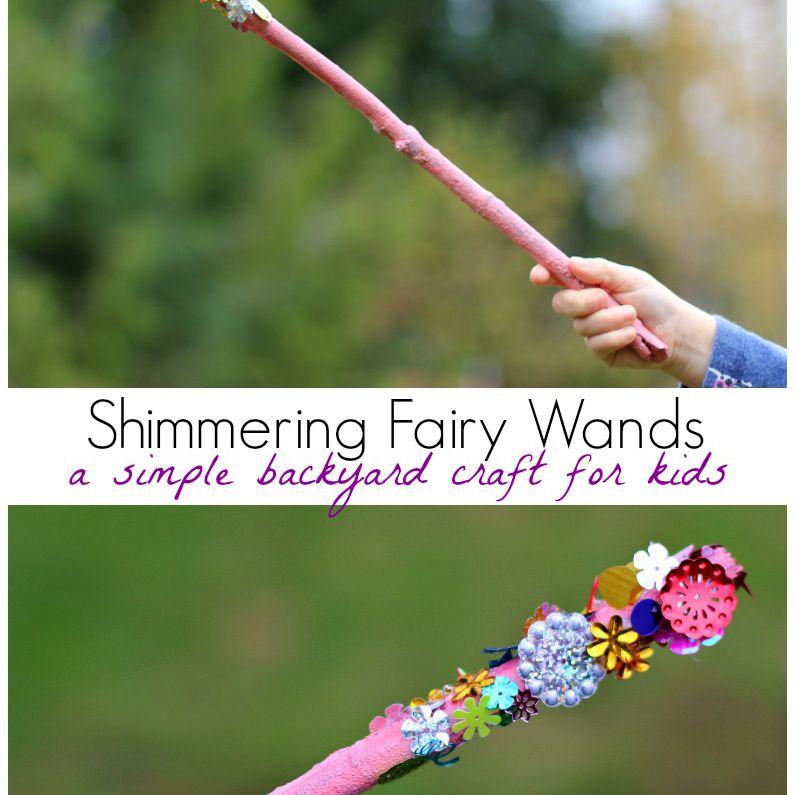 DIY Fairy Wands