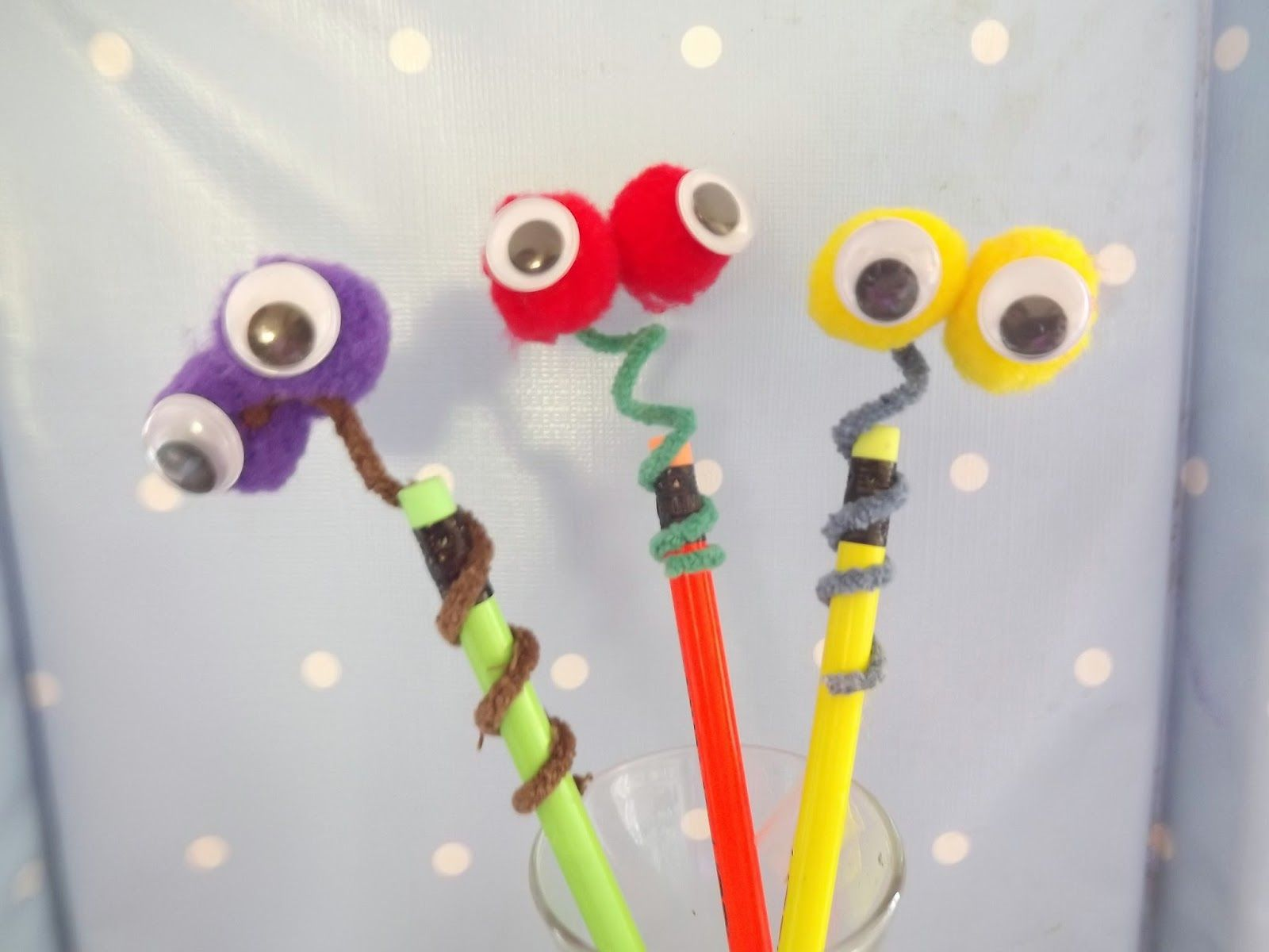 Wobbly Pencil Toppers