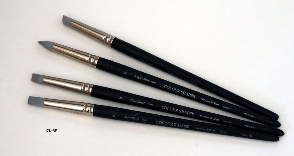 Introduction to Art Paint Brushes Colour Shapers