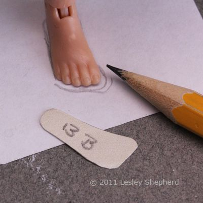 """LEFT FOOT ONLY 2 LEFT FOOT DOLL BOOTS SIZE 2/"""" X 1/"""""""