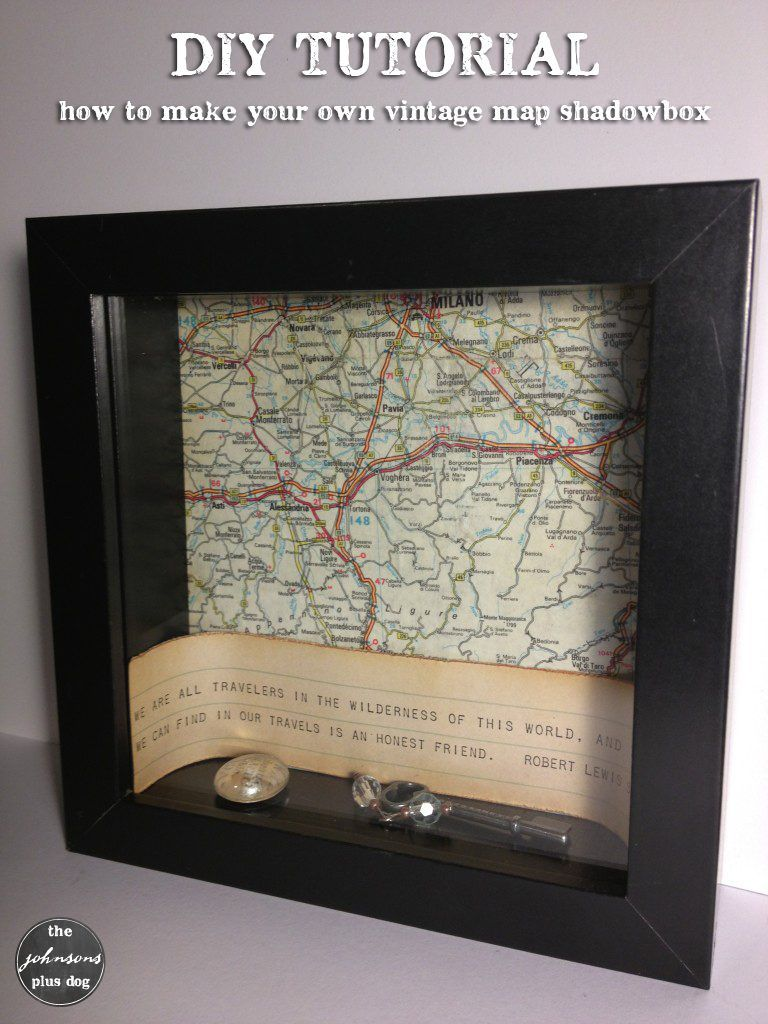 Map Shadow Box