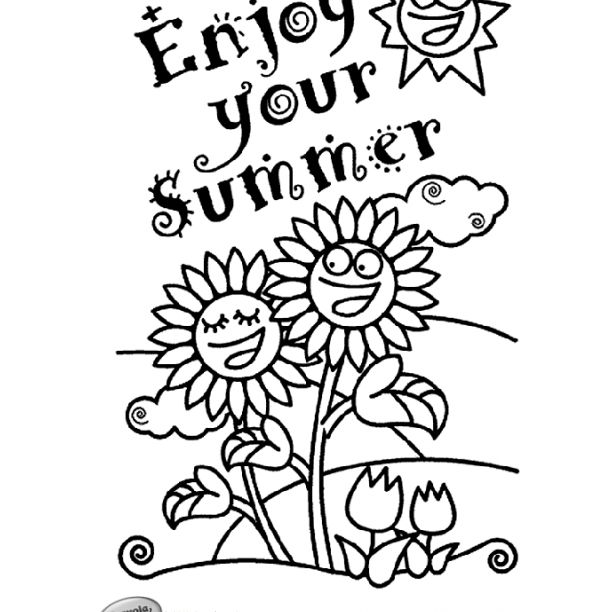 - Free, Printable Summer Coloring Pages For Kids