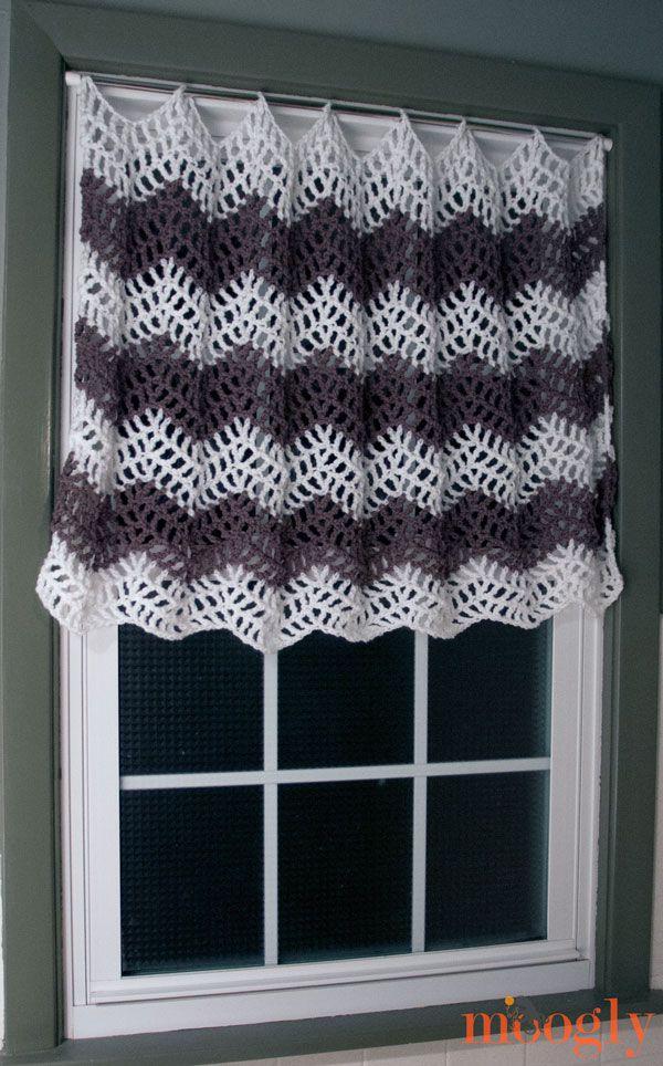 8 Free Crochet Curtain Patterns