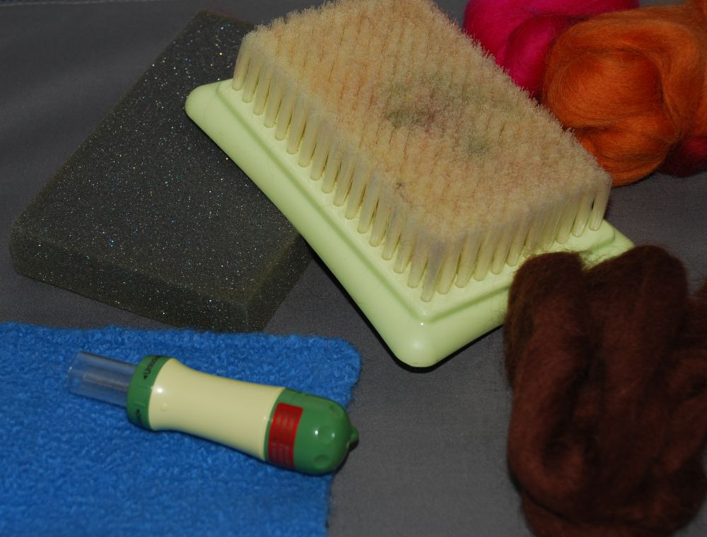Use Needle Felting To Add Texture To Knit