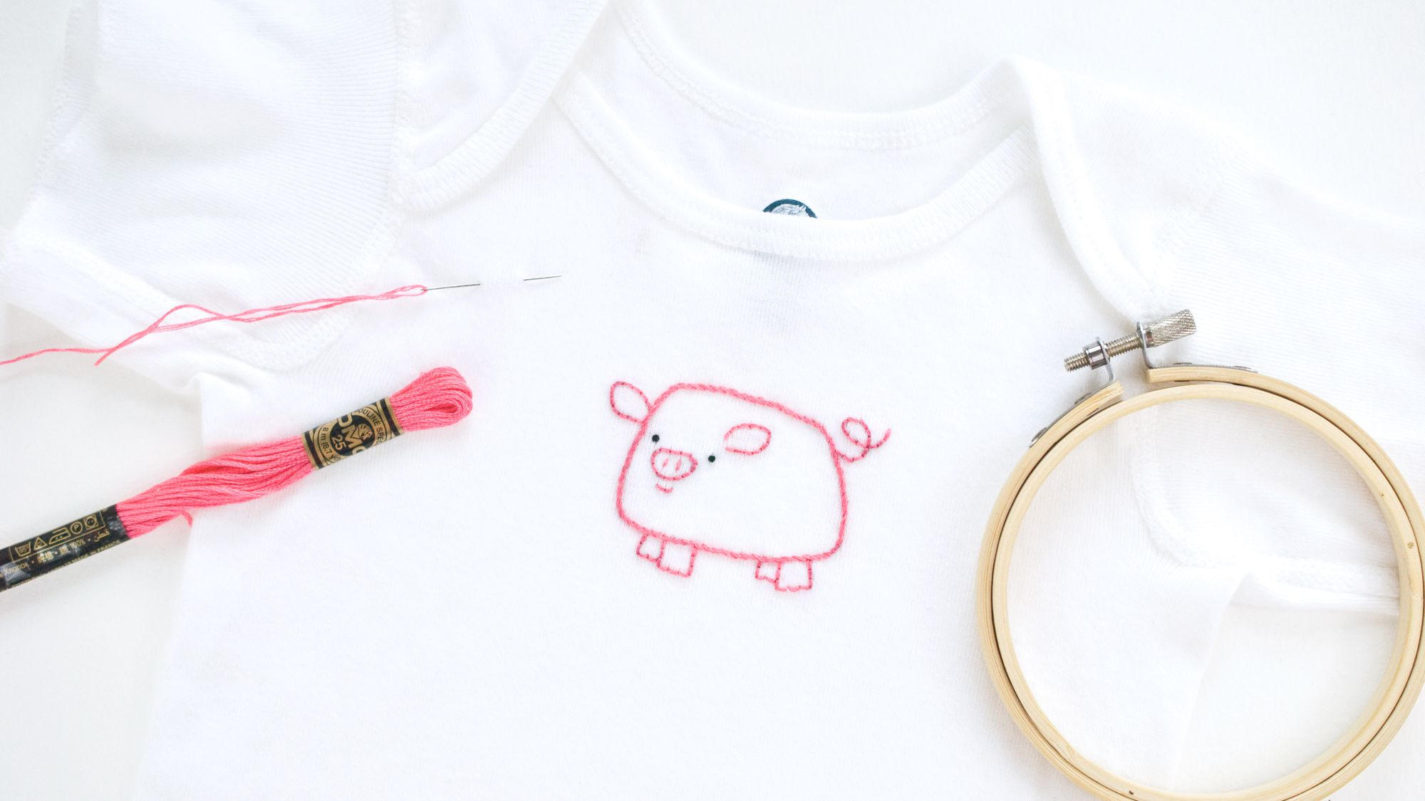 How to Hand Embroider on T Shirts